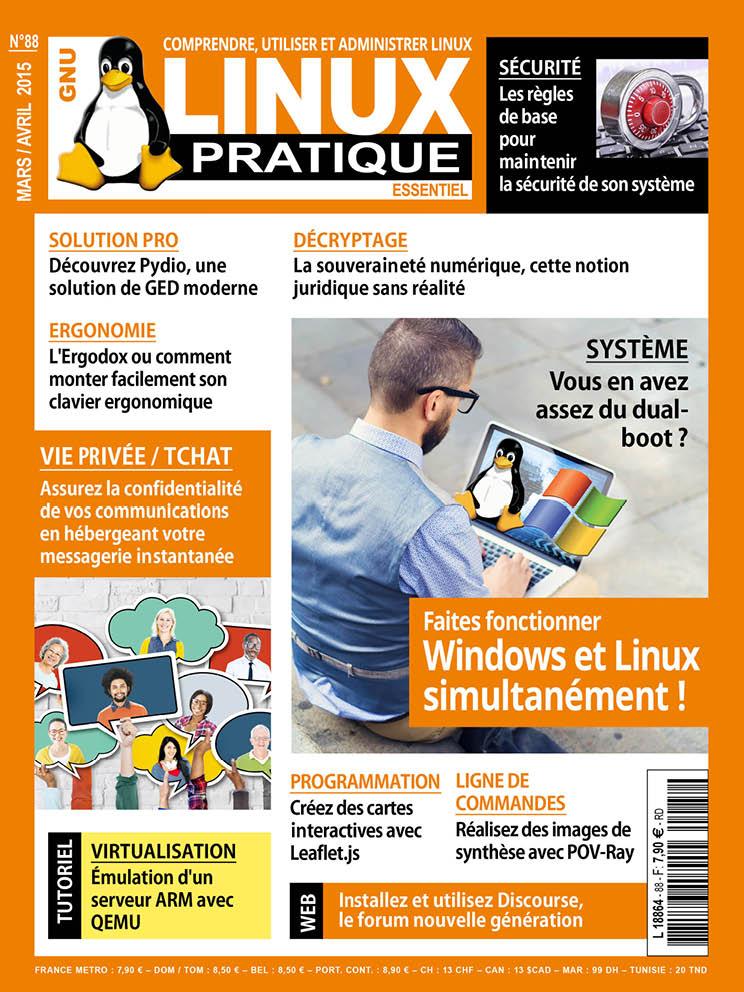 Linux Pratique N°88 - Faites Fonctionner Windows et Linux Simultanément !