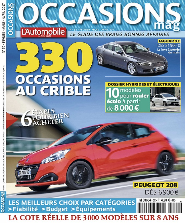 L'Automobile Occasions N°52 - Mars-Avril 2017