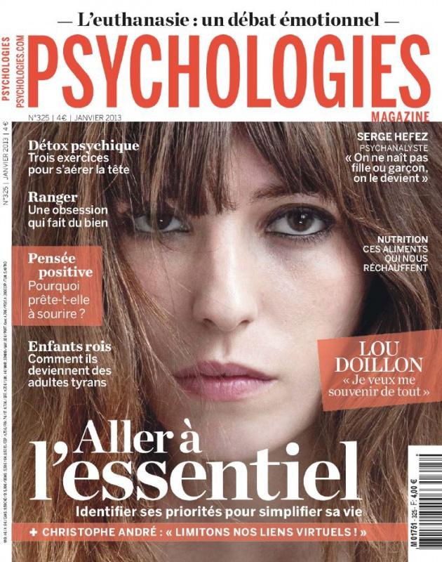 Psychologies Magazine N°325 - Aller à l'essentiel
