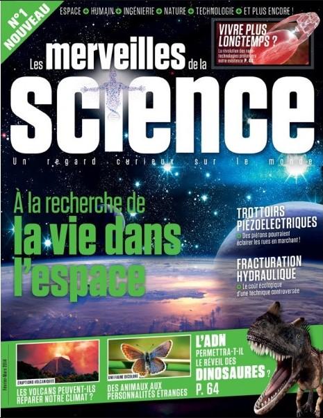 Les Merveilles de la Science Magazine N°1 - La Vie dans L'espace