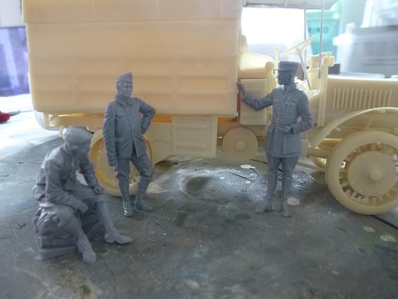 Camion Chatillon Panhard 1917 - résine de chez Blitz au 1/35 170328023009250521