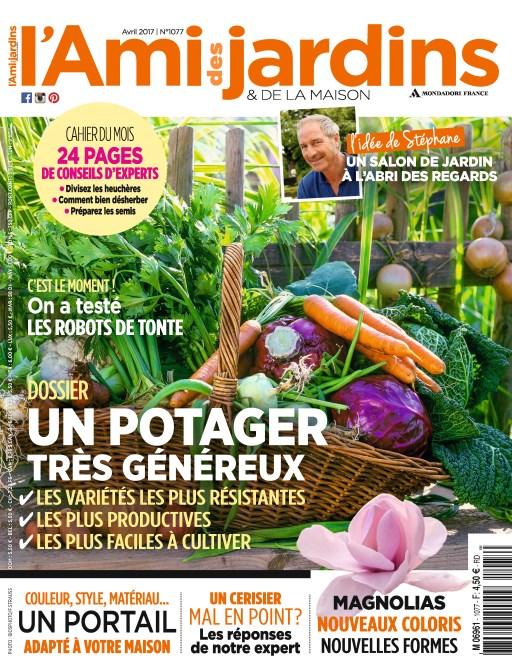 L'Ami des Jardins N°1077 - Avril 2017