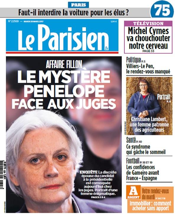 télécharger Le Parisien + Journal De Paris Du Mardi 28 Mars 2017