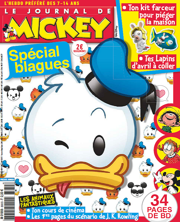 télécharger Le Journal De Mickey N°3380 Du 29 Mars 2017