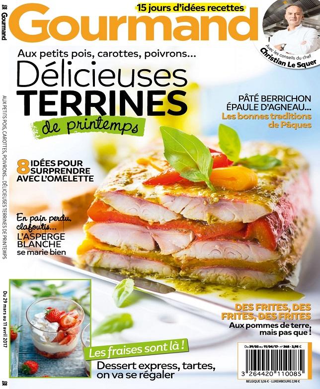 télécharger Gourmand N°368 Du 29 Mars au 11 Avril 2017