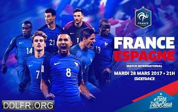 France Espagne Football Match amical 28 Mars 2017 HDTV 720p