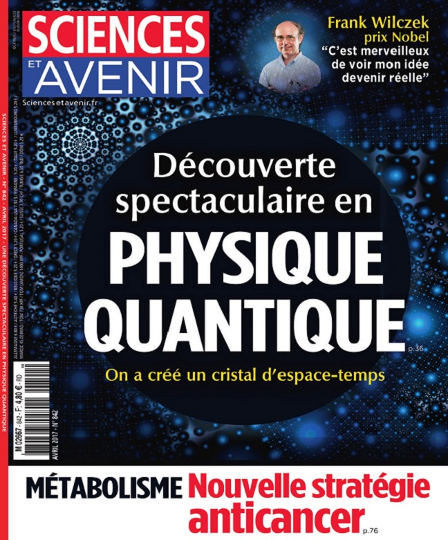 Sciences et Avenir N°842 - Avril 2017