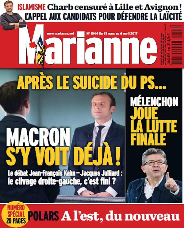 télécharger Marianne N°1044 Du 31 Mars au 6 Avril 2017
