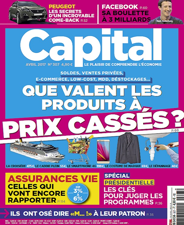 télécharger Capital N°307 - Avril 2017