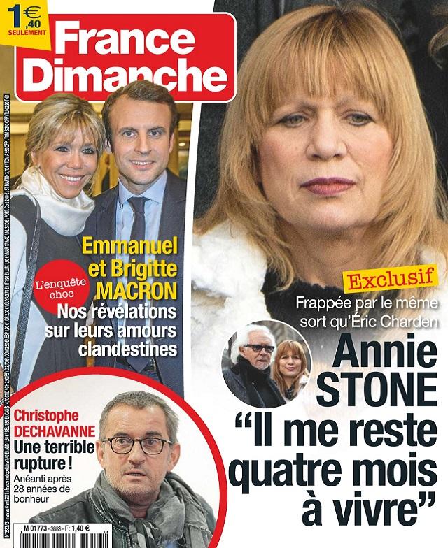 France Dimanche N°3683 Du 31 Mars au 6 Avril 2017