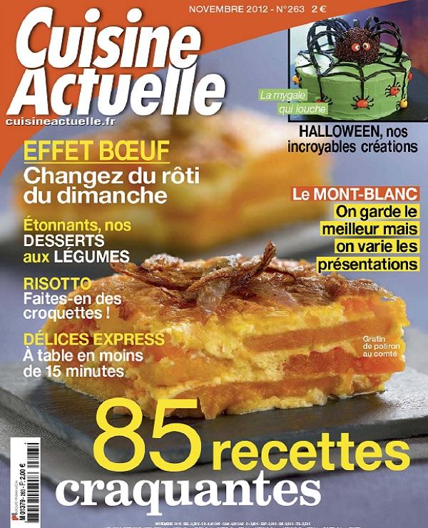 télécharger Cuisine Actuelle N°263 - 85 Recettes Craquantes