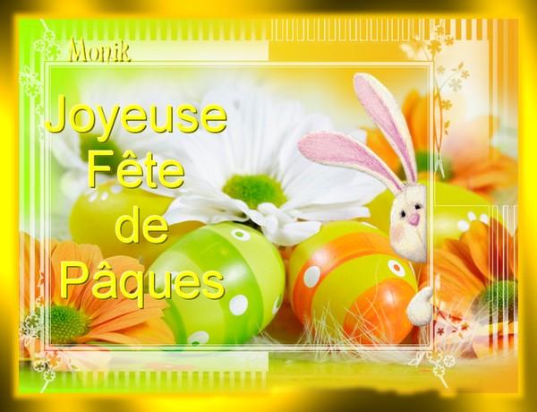joyeuse fête de pâque 2