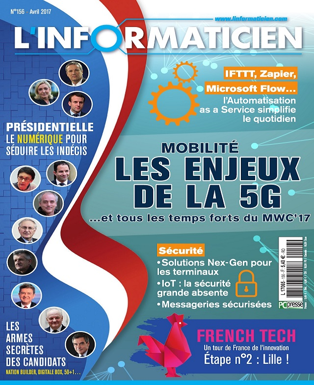 télécharger L'Informaticien N°156 - Avril 2017