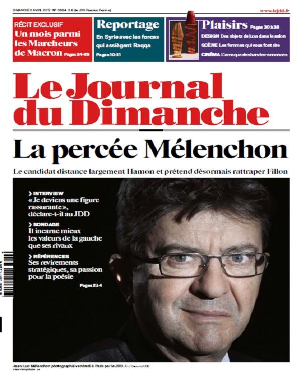 télécharger Le Journal Du Dimanche N°3664 Du 2 Avril 2017