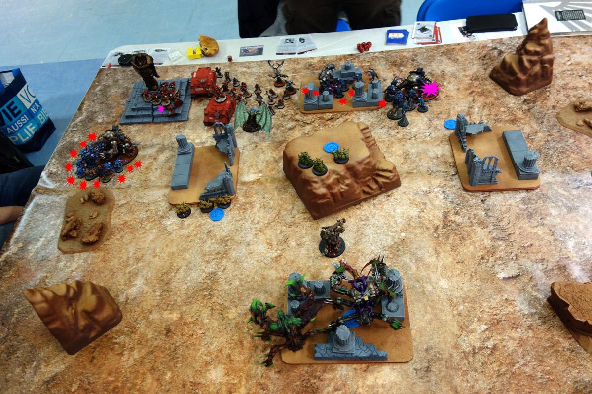 Pair of Aces - Partie 3/4 - Démons/Genestealers vs. Word Bearers/Iron Warriors 170403112657254277