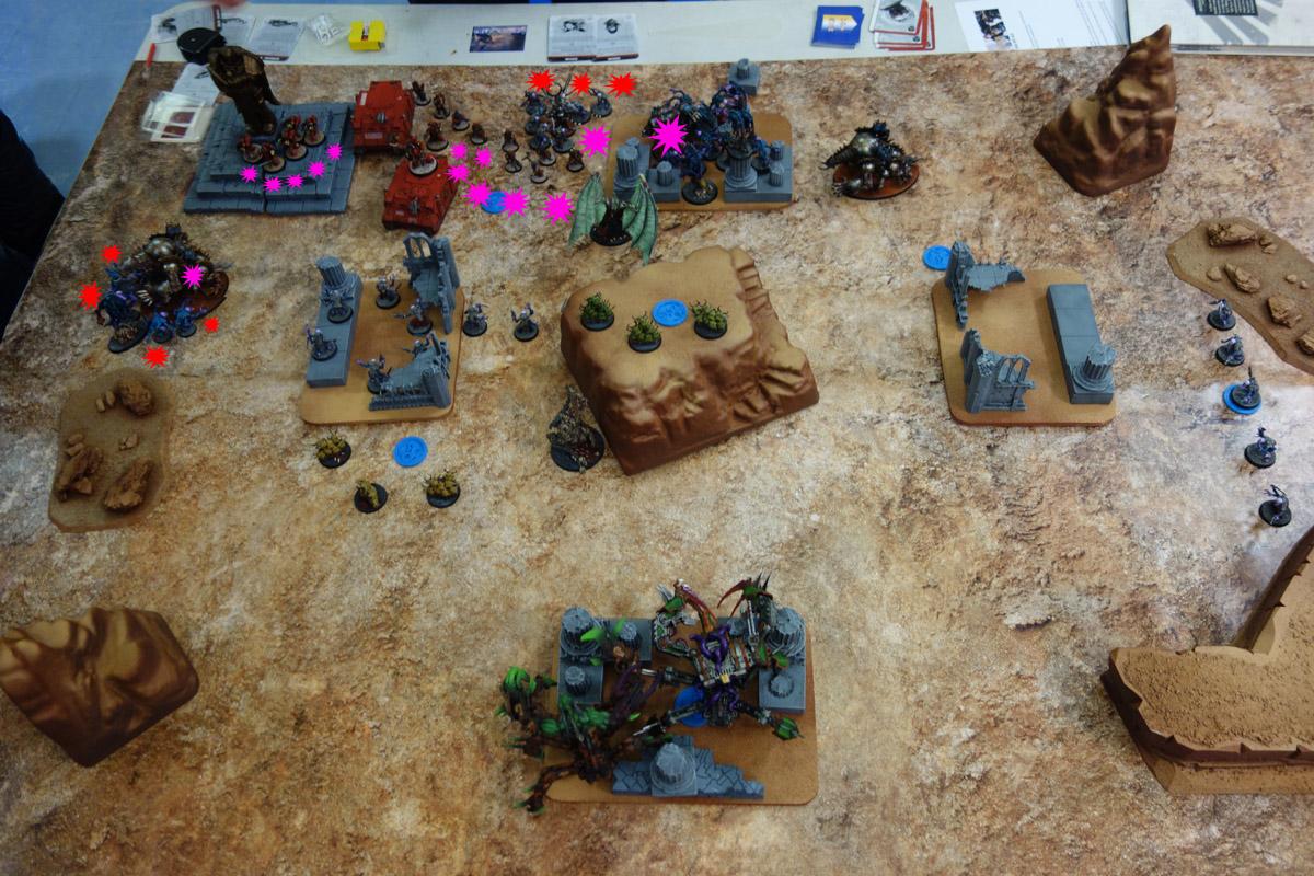 Pair of Aces - Partie 3/4 - Démons/Genestealers vs. Word Bearers/Iron Warriors 170403114521275692