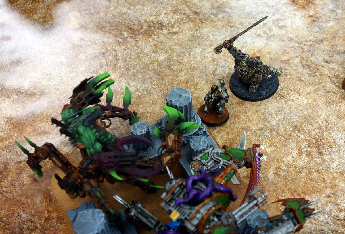 Pair of Aces - Partie 3/4 - Démons/Genestealers vs. Word Bearers/Iron Warriors 170403121454421415