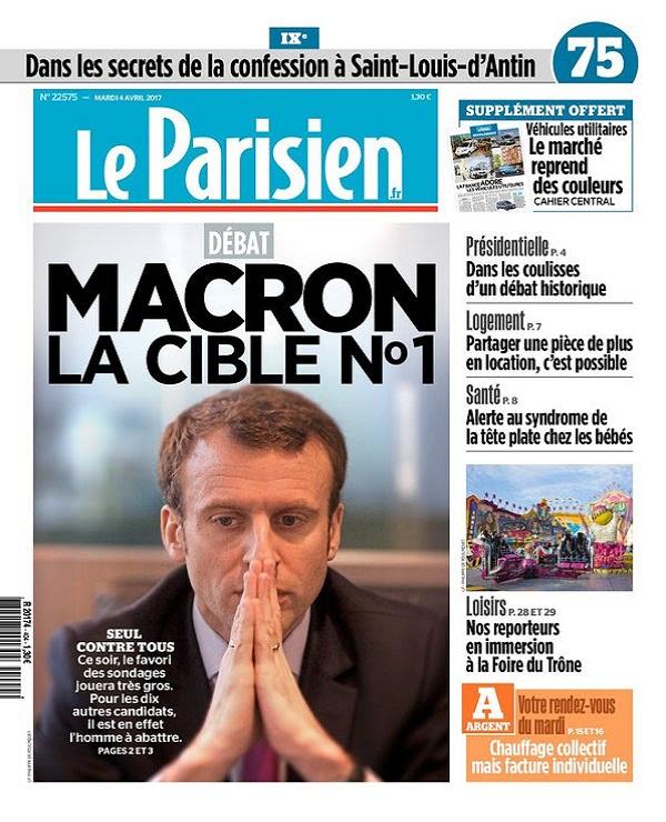 télécharger Le Parisien + Journal De Paris Du Mardi 4 Avril 2017