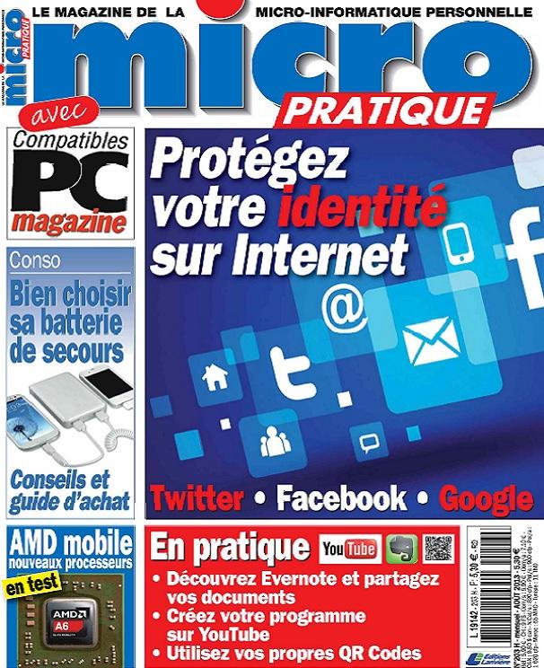 télécharger Micro Pratique N°203 - Protégez Votre Identité Sur Internet