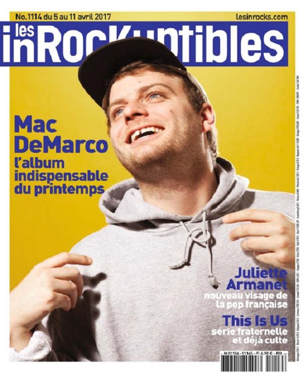télécharger Les Inrockuptibles N°1114 Du 5 Au 11 Avril 2017