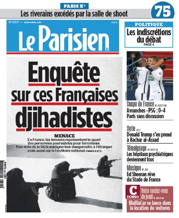 télécharger Le Parisien Du Jeudi 6 Avril 2017