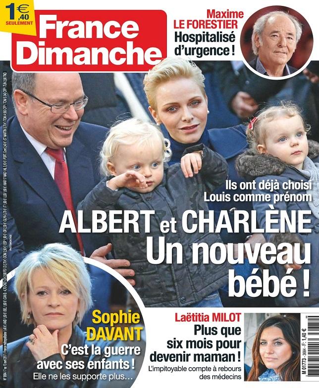 télécharger France Dimanche N°3684 Du 7 au 13 Avril 2017