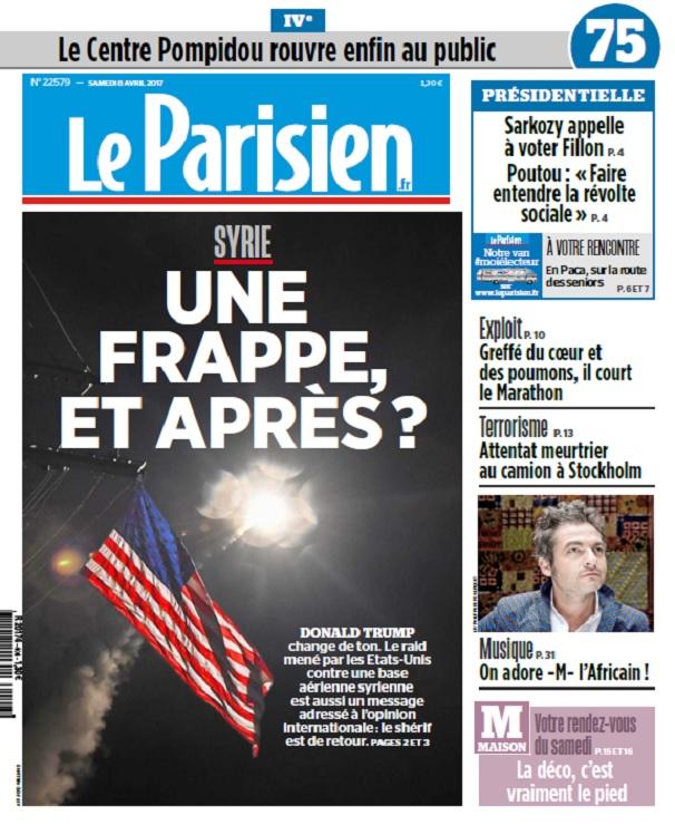 télécharger Le Parisien + Journal De Paris Du Samedi 8 Avril 2017