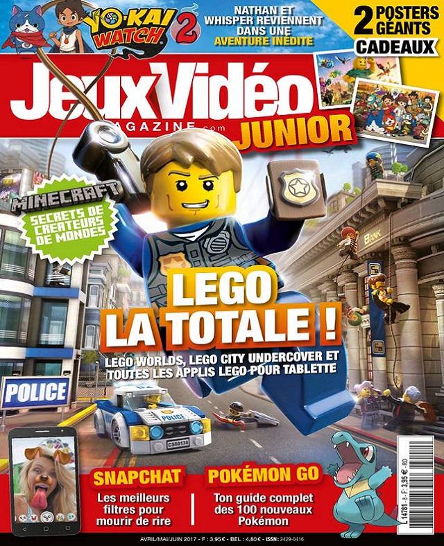 télécharger Jeux Vidéo Magazine Junior N°8 - Avril-Juin 2017
