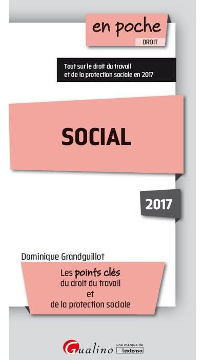 télécharger Social : Les points clés du droit du travail et de la protection sociale