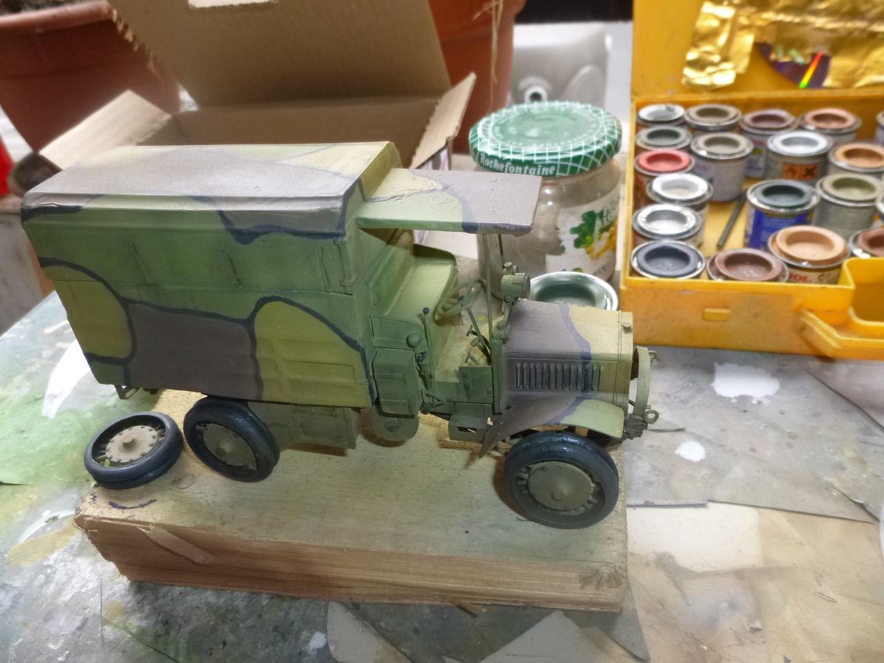 Camion Chatillon Panhard 1917 - résine de chez Blitz au 1/35 - Page 2 170410112358766659
