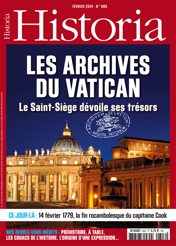 Historia N 806 - Les Archives du Vatican