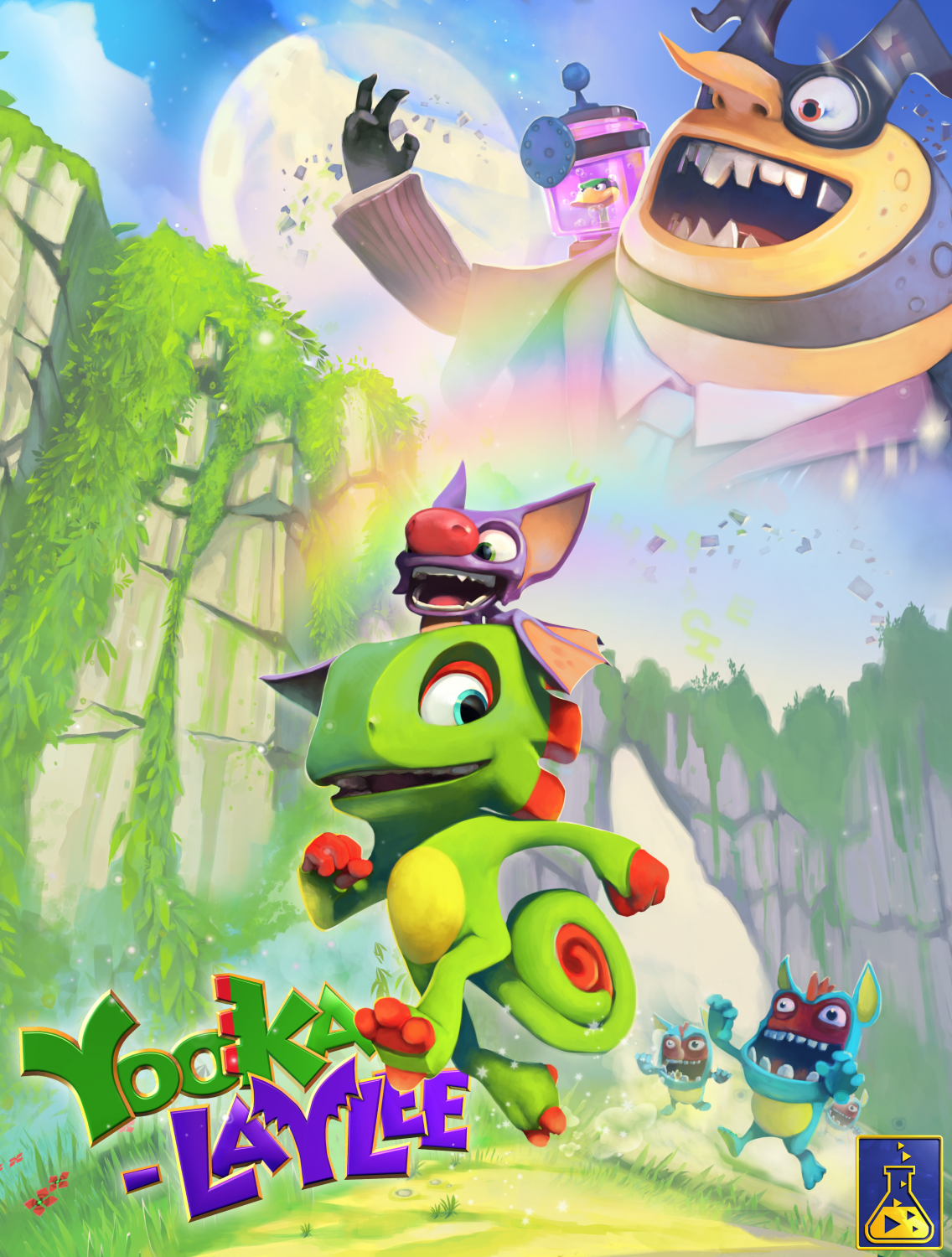 Poster for Yooka-Laylee