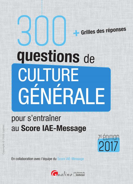 télécharger 300 questions de culture générale 2017