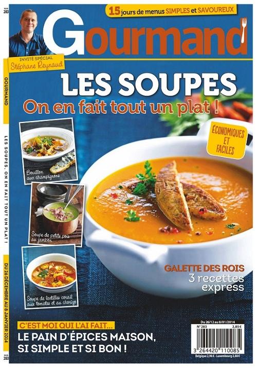 Gourmand N°283 - Les Soupes : On en Fait tout un Plat !