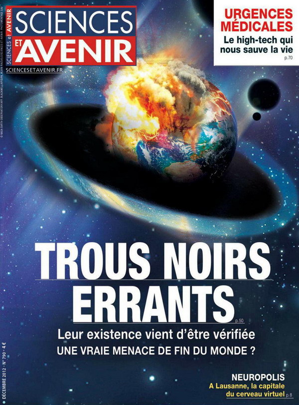 Sciences et avenir N°790 - Trous Noirs Errants