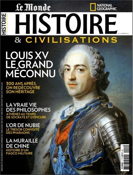 Histoire Et Civilisations N°2 - Louis XV : Le Grand Méconnu