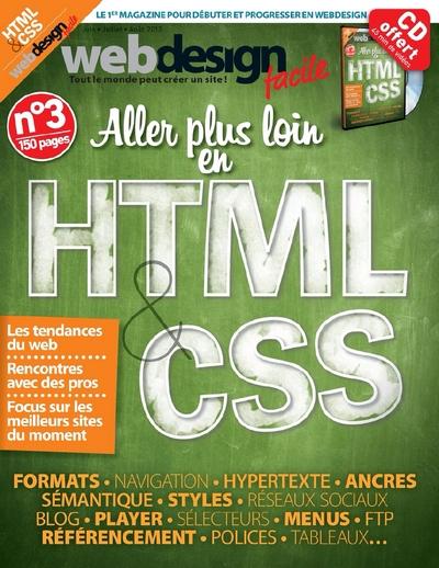 Web Design Facile N°3 - Aller plus loin en HTLM & CSS