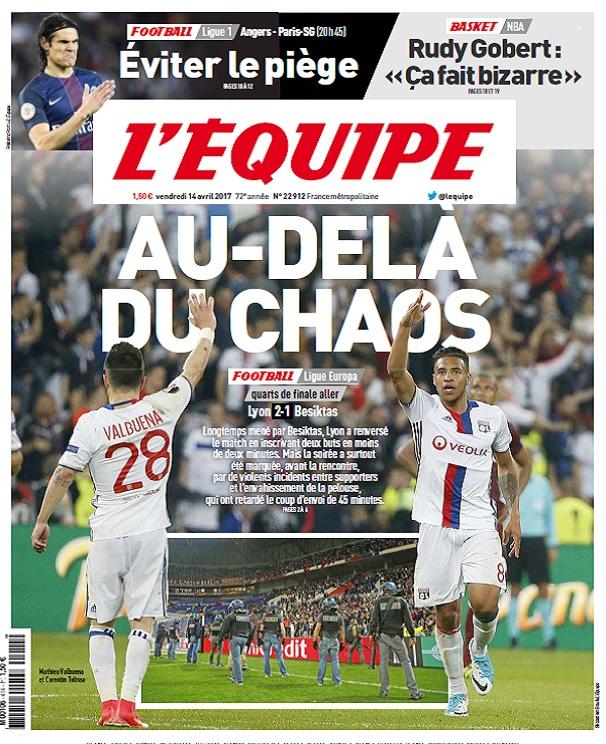 télécharger L'Equipe Du Vendredi 14 Avril 2017