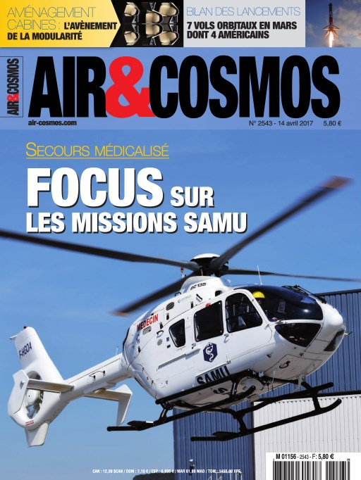 Air & Cosmos N°2543 - 15 au 20 Avril 2017