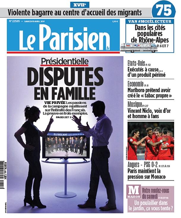 télécharger Le Parisien Du Samedi 15 Avril 2017