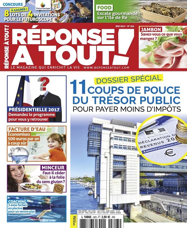 télécharger Réponse À Tout ! N°323 - Mai 2017