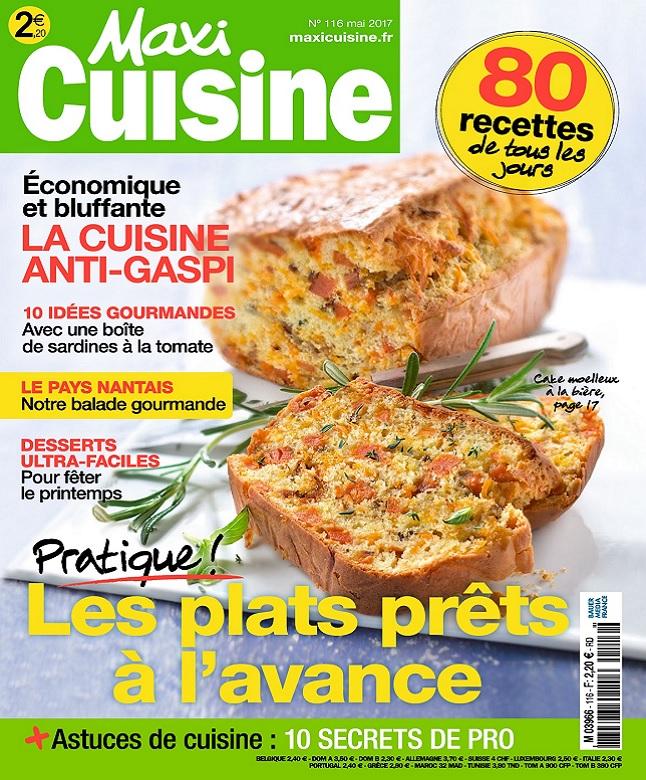 télécharger Maxi Cuisine N°116 - Mai 2017