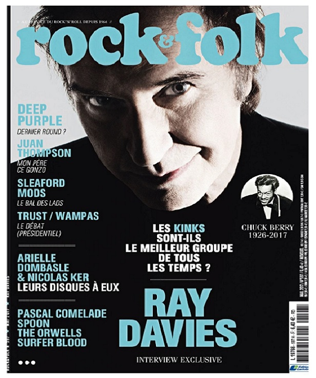 télécharger Rock et Folk N°597 - Mai 2017