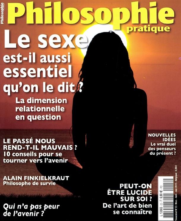 télécharger Philosophie Pratique N°22 - Le Sexe est-il aussi Essentiel qu'on le dit ?