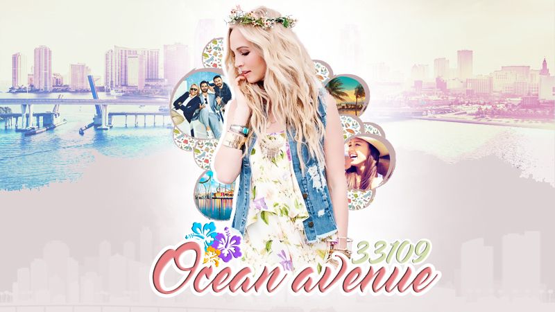 ocean avenue ✿ miami beach