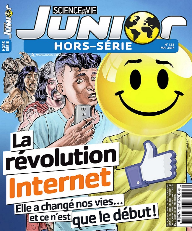 Science et Vie Junior Hors Série N°123 - Mai 2017