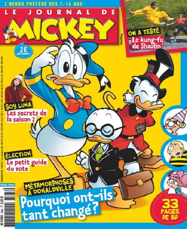 Le Journal De Mickey N°3383 Du 19 Avril 2017