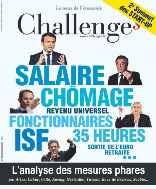 télécharger Challenges N°518 Du 20 au 26 Avril 2017