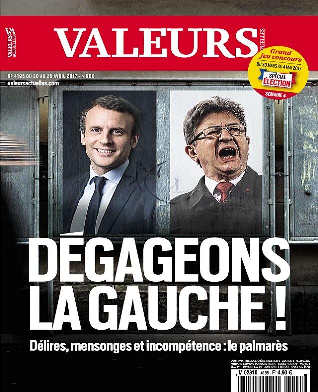 Valeurs Actuelles N°4195 Du 20 au 26 Avril 2017