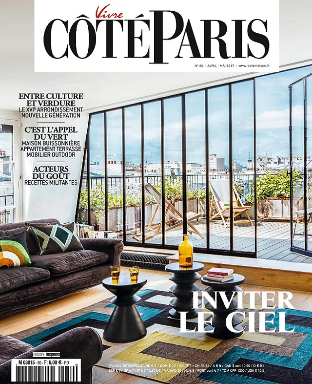 Vivre Côté Paris N°50 - Avril-Mai 2017
